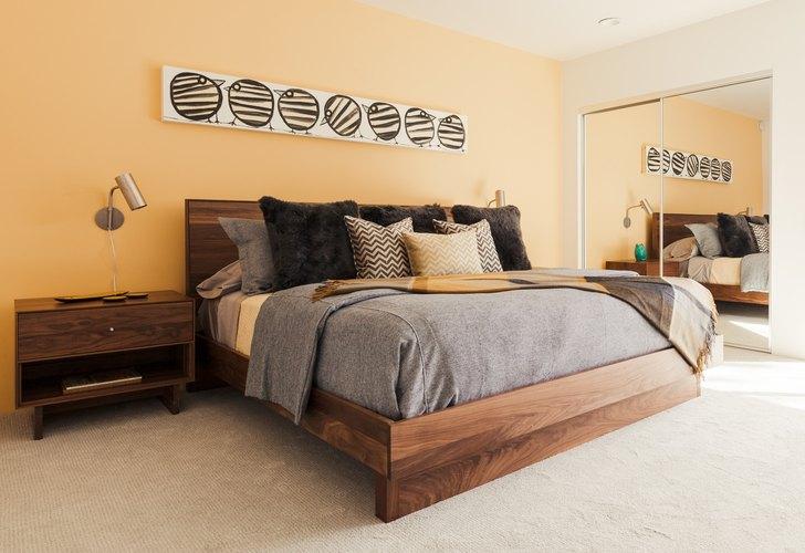 Frey House bedroom