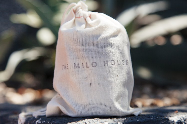 Milo House candle with packaging