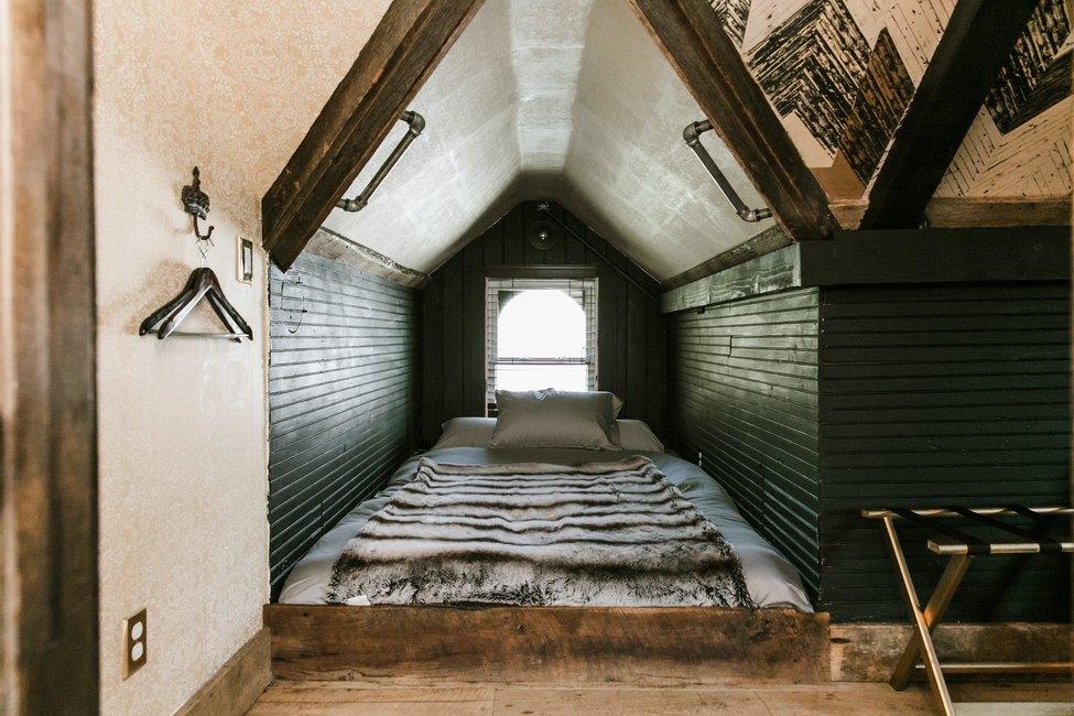 Bedroom at Urban Cowboy Nashville