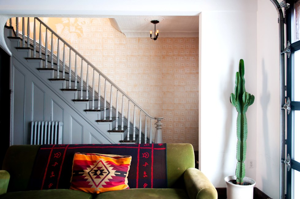 Stairs at Urban Cowboy Brooklyn